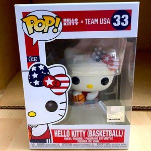 Funko Hello Kitty x Team USA Basketball